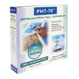 pH7-70 pH Neutral White Tape