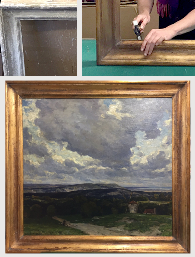 Hand Finished Frames – Courtyard Framing and Gallery