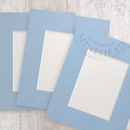 A4 Pack of 9 – £1.06 Per Mount – Choice of Colours and Aperture Size
